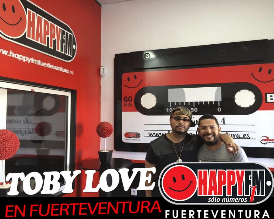 Visita los estudios de HappyFM – Fuerteventura Toby Love