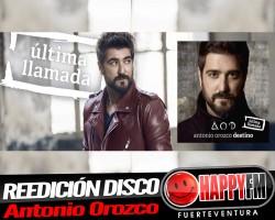 Antonio Orozco publica la reedición de su último disco