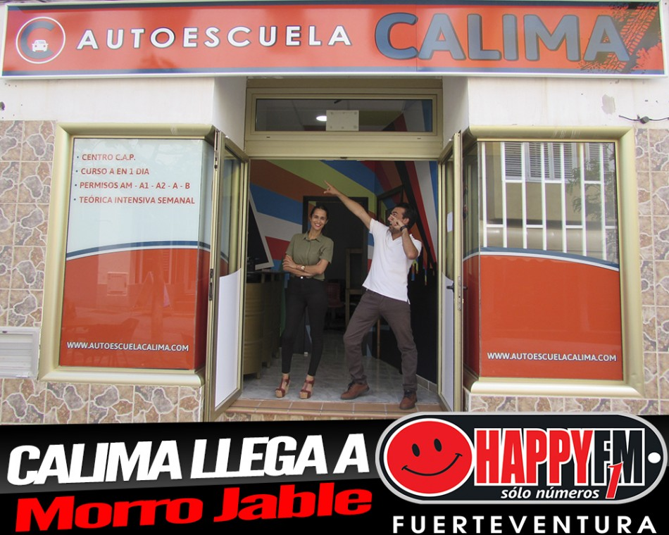 (fotos) Despiértate Happy en directo desde la Autoescuela Calima