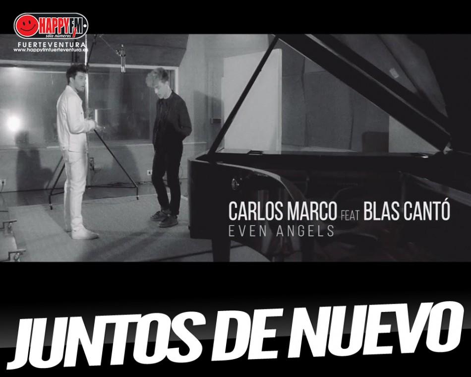 """""""Even Angels"""" es la nueva colaboración de Carlos Marco y Blas Cantó"""