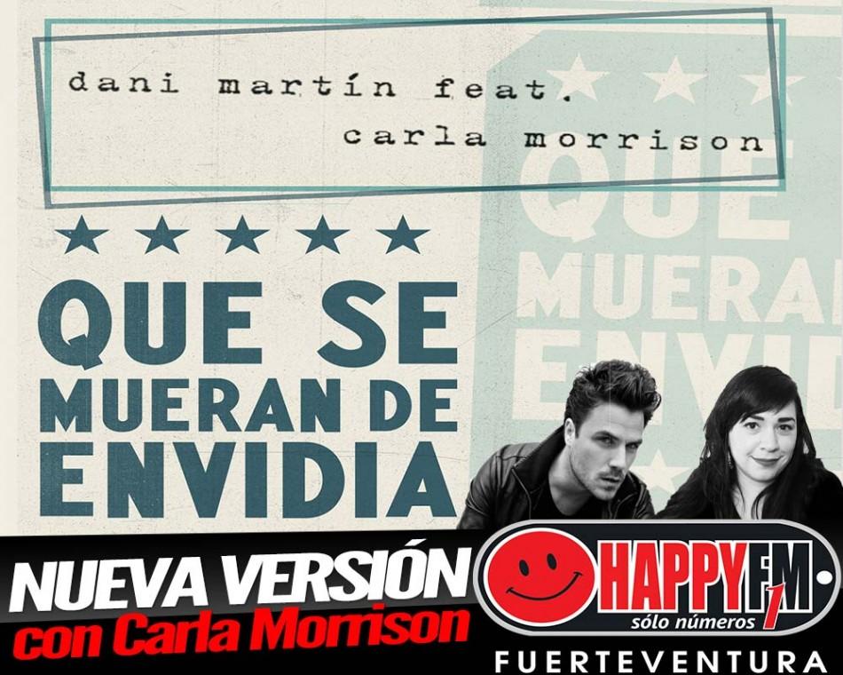 Carla Morrison Con Dani Martín En Que Se Mueran De Envidia Happy