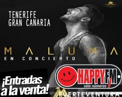 A la venta las entradas para los conciertos de Maluma en Canarias