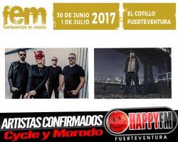 Morodo y Cycle son los primeros artistas confirmados para el FEM 2017