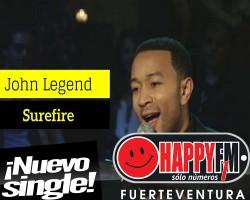 'Surefire' es el nuevo single de John Legend