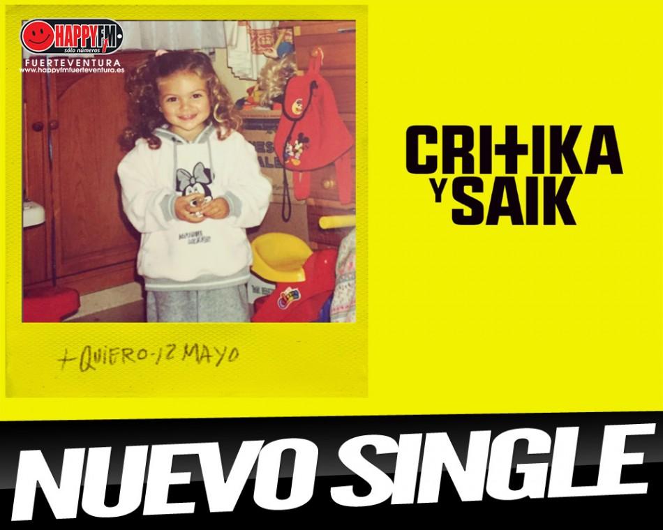 """""""Quiero"""" es lo nuevo de Critika y Saik ft Ana Mena"""