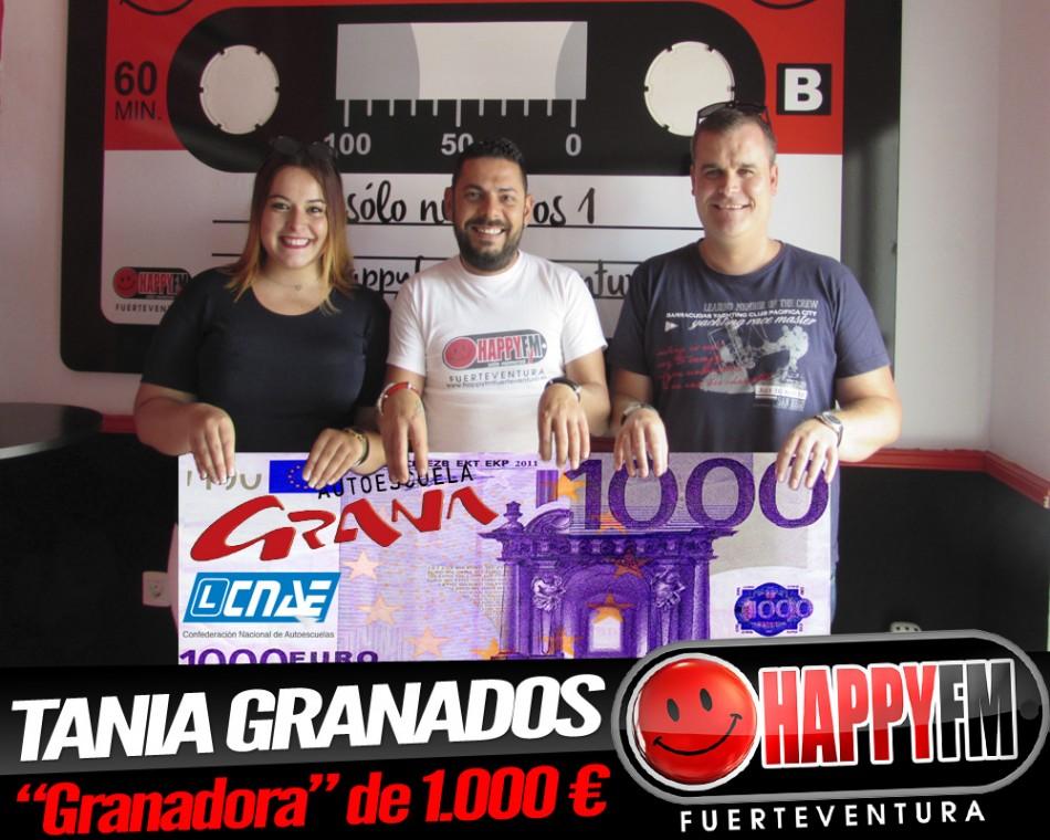"""Tania Granado es la """"Granadora"""" de los 1.000 € con Autoescuela Grana"""