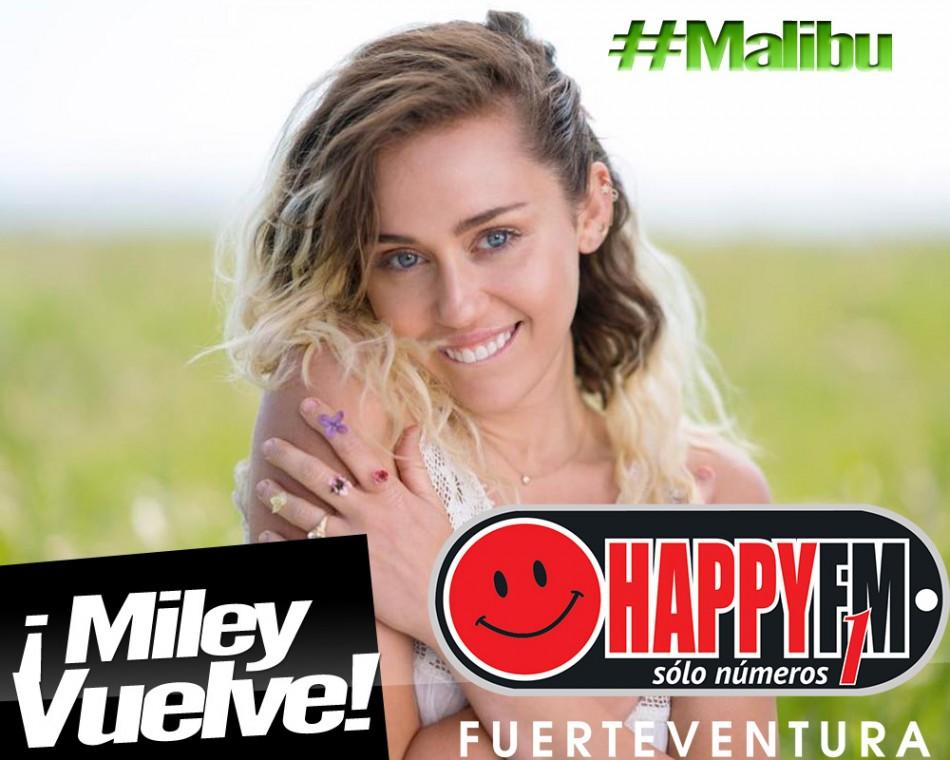 "Miley Cirus presenta ""Malibu"""