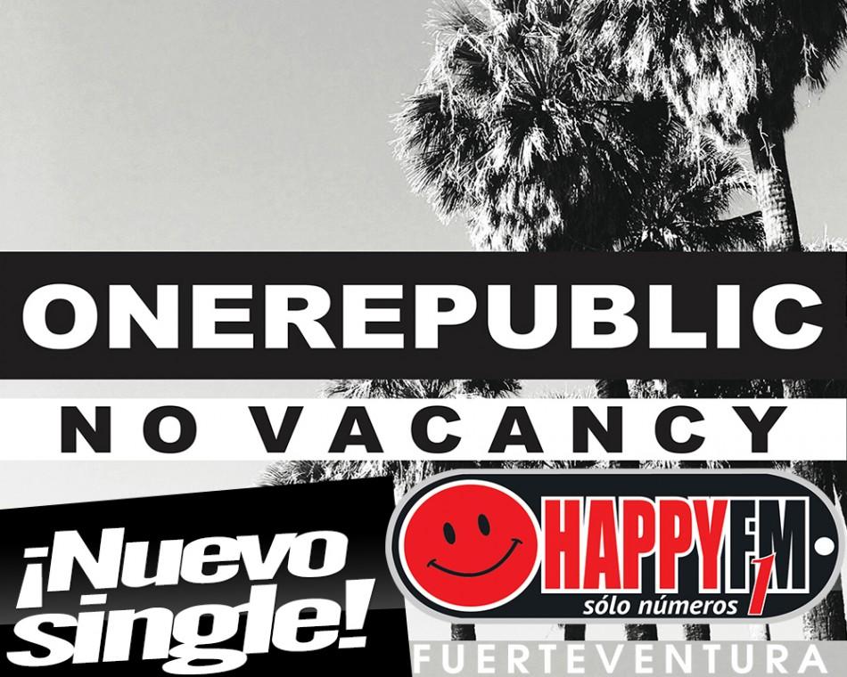 """""""No Vacancy"""" es lo nuevo de One Republic"""