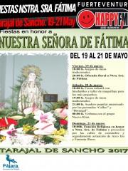 Fiestas Nuestra Señora de Fátima en Tarajal de Sancho (del 19 al 21 de Mayo)