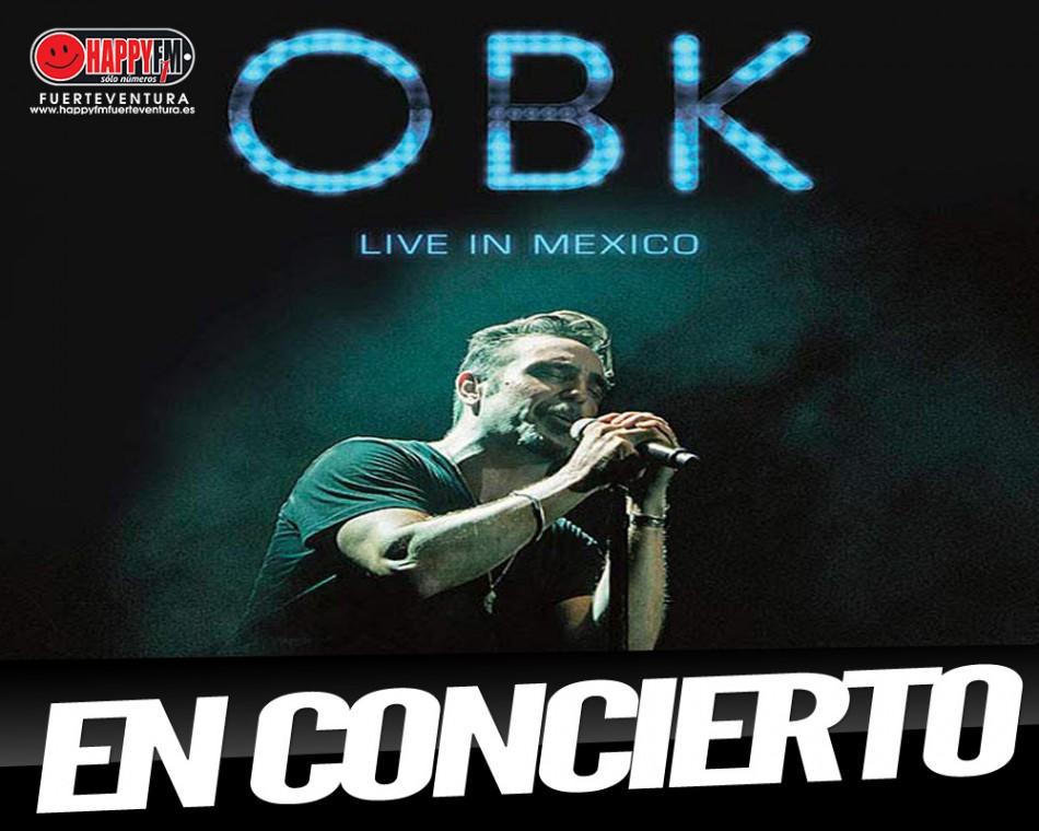 Se anuncian conciertos de OBK