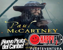 Paul McCartney convertido en Pirata del Caribe