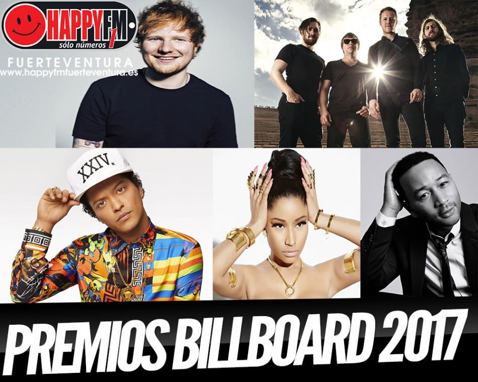 Actuaciones de lujo en los premios Billboard 2017