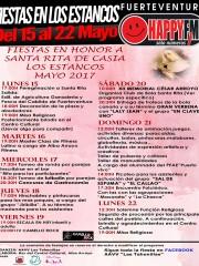 Fiestas en Honor a Santa Rita de Casia en Los Estancos (del 15 al 22 de Mayo)