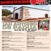 Fiestas en Honor a San Antonio de Padua en Toto (del 06 al 13 de Junio)