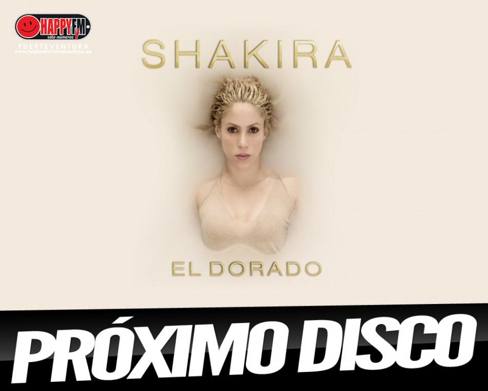 """""""El Dorado"""" es el título del próximo álbum de Shakira"""