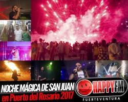 (fotos) Magia y música en la noche de San Juan 2017 en Puerto del Rosario