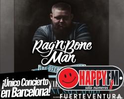 Único concierto de Rag'n'Bone Man en Barcelona