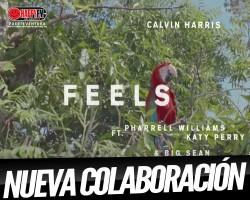 """""""Feels"""" une a Calvin Harris con Katy Perry, Pharrel Williams y Big Sean"""