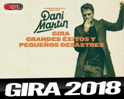 Dani Martín anuncia gira para el 2018