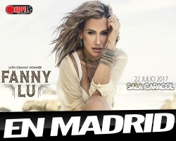 Fanny Lu llega a Madrid de concierto