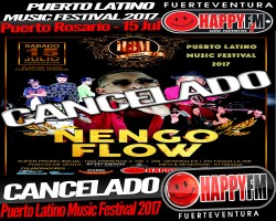 CANCELADO Puerto Latino Music Festival 2017