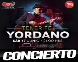 Concierto de Yordano en Tenerife