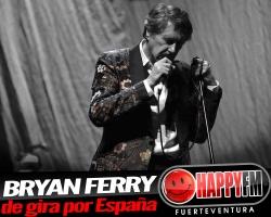 Bryan Ferry de gira en España