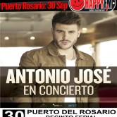 Antonio José en concierto en Puerto del Rosario