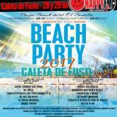 Beach Party 2017 en Caleta De Fuste: 28 y 29 de Julio