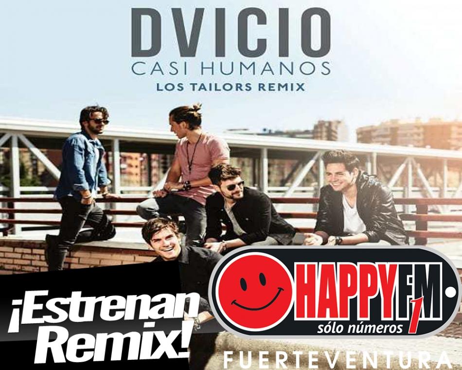 """Llega el remix de """"Casi Humanos"""" de Dvicio con Los Tailors"""