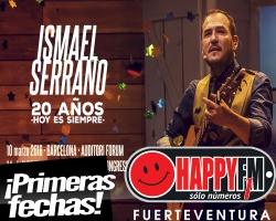"""Ismael Serrano anuncia las primeras fechas de su gira """"20 Años Hoy Es Siempre"""""""
