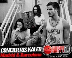 Kaleo anuncia conciertos en Madrid y Barcelona