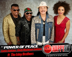 "Santana publica este viernes ""Power Of Peace"" con la colaboración de The Isley Brothers"