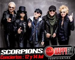 Scorpions está de gira en nuestro país