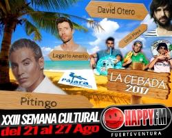 Pitingo, David Otero, Lagarto Amarillo y Locoplaya en la Playa de la Cebada 2017
