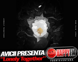 "Avicii ft Rita Ora en el tema ""Lonely Together"""