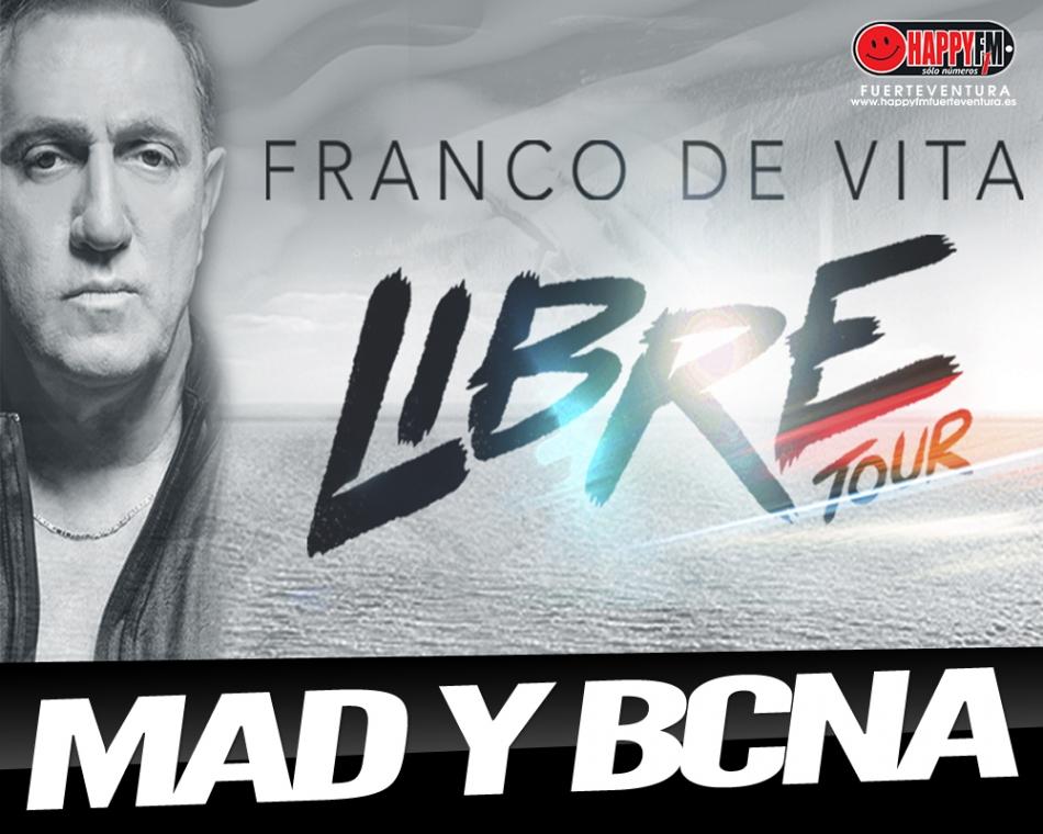 Franco De Vita anuncia conciertos en nuestro país