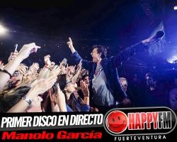 Manolo García anuncia su primer disco en directo