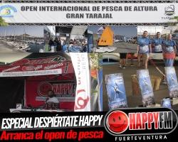 Primera jornada del Open Internacional de Pesca de Gran Tarajal y I Fuertenáutica