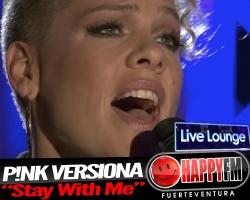 "P!nk versiona en directo ""Stay With Me"" de Sam Smith"
