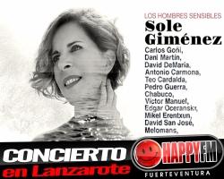 Sole Giménez presentará su nuevo disco en directo en Lanzarote