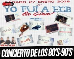 ¿Te imaginas un concierto con Sabrina, Boney M, Modestia Aparte, Ana Torroja, Seguridad Social entre otros?