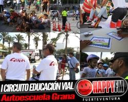 I Circuito de Educación Vial Autoescuela Grana