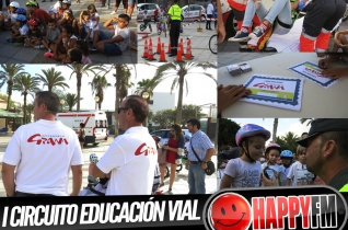 (fotos) I Circuito Seguridad Vial Autoescuela Grana