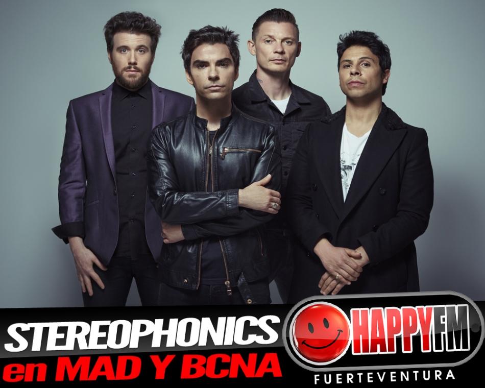 Stereophonics anuncia conciertos en Madrid y Barcelona