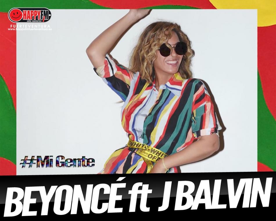 """Beyoncé se une a J Balvin en un remix de """"Mi Gente"""""""