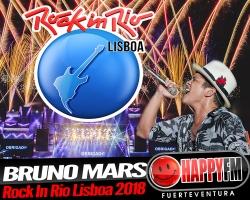 Bruno Mars, cabeza de cartel del Rock In Río Lisboa 2018