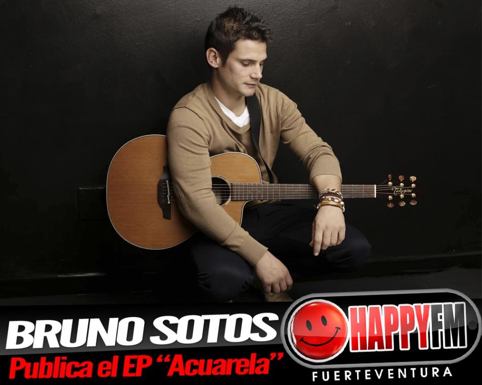 """Bruno Sotos publica su EP """"Acuarela"""""""