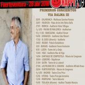 Concierto de Sergio Dalma en Fuerteventura en 2018