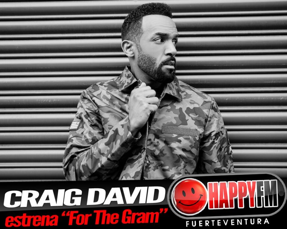 """Craig David estrena """"For The Gram"""""""